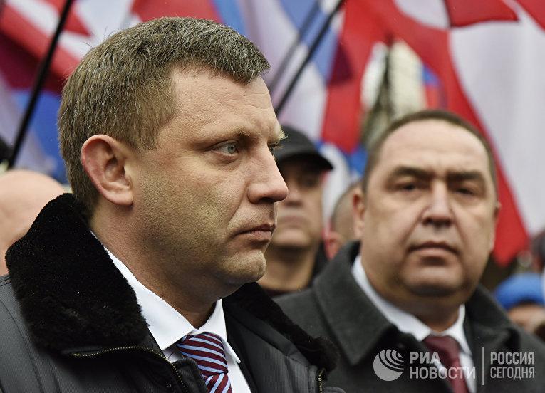 Главы ДНР и ЛНР посетили Крым