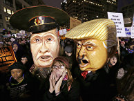 Акция протеста против иммиграционного закона
