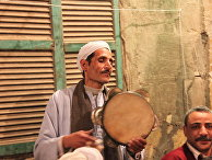 Празднование годовщины рождения имама Хусейна в Каире