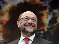 Председатель Социал-демократической партии Германии Мартин Шульц