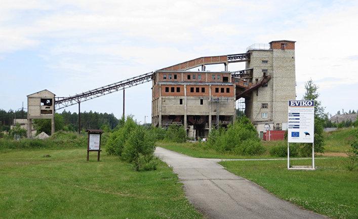 Заброшенная шахта в Кохтла-Ярве, Эстония