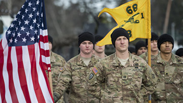 Военнослужащие армии США прибыли в Литву