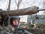 Демонстрация военной техники НАТО в Латвии