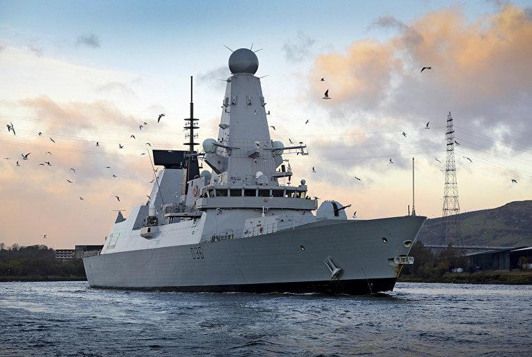 Эскадренный миноносец типа 45 HMS Diamond