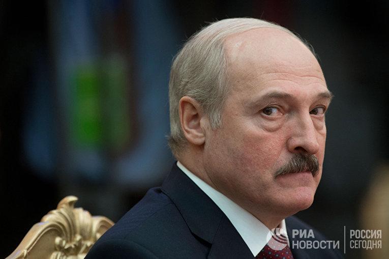 Президент Республики Белоруссии Александр Лукашенко