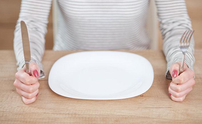 Пустая тарелка
