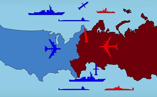 США против России: война на арене