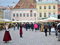 Одна из улиц Таллина