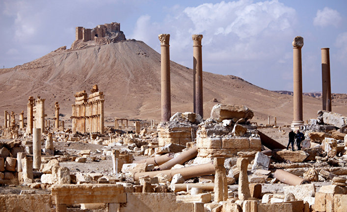Руины в Пальмире