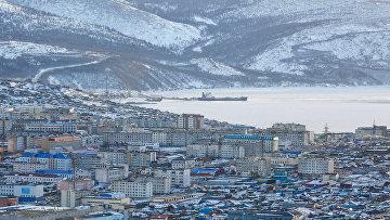Город Магадан