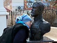Бюст Императора Николая II в Крыму