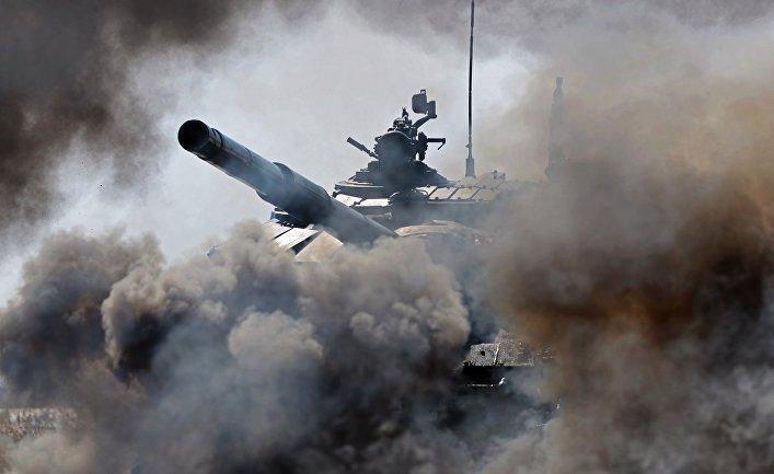 Танк Т72-Б3 вооруженных сил РФ