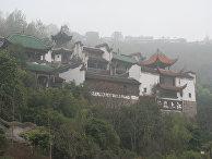 Буддистский храм Чжан Фэй в Китае
