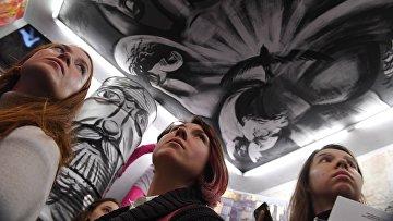Открытие весеннего выставочного сезона в Музее современного искусства «Гараж»