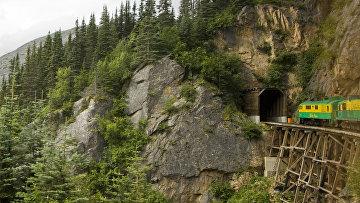 Железнодорожный тоннель на Аляске