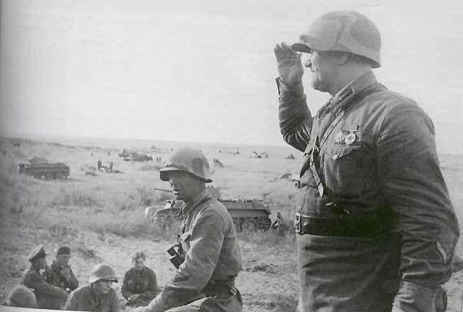 Части РККА перед наступлением