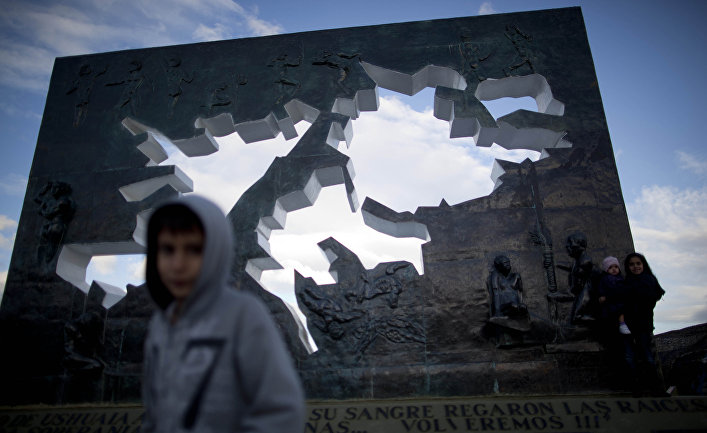 Мемориал погибшим аргентинцам в Ушуая, Аргентина