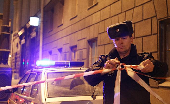 Взрыв в метро в Санкт-Петербурге