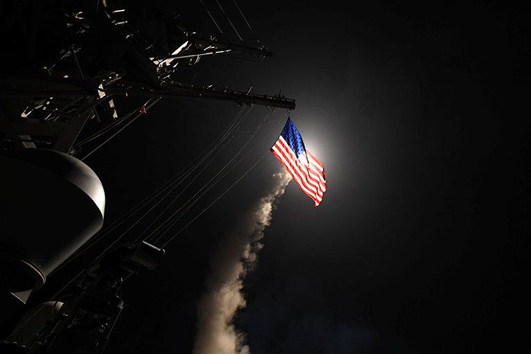 Удар США по базе в Сирии