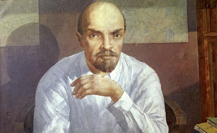 Репродукция картины «Портрет В.И. Ленина»