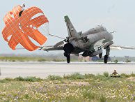 """Самолет сирийских военно-воздушных сил на аэродроме """"Шайрат"""". 8 апреля 2017"""