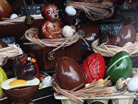 Продажа шоколадных сладостей к пасхе