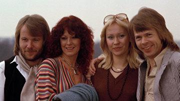 16 февраля 1978 года. ABBA перед премьерой фильма «ABBA — The Movie».