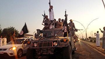 """Боевики террористической группировки """"Исламское государство"""" в Мосуле"""