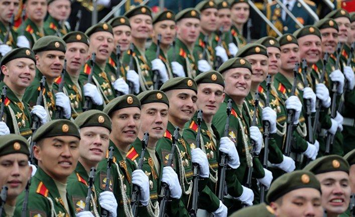 Военный парад, посвящённый 72-й годовщине Победы в ВОВ