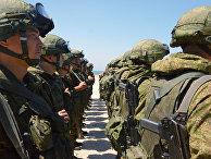 Совместные российско-сирийские учения в Тартусе
