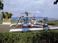 """Нулевая отметка нефтепровода """"Дружба"""""""