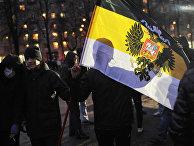 Шествие националистов в Санкт-Петербурге