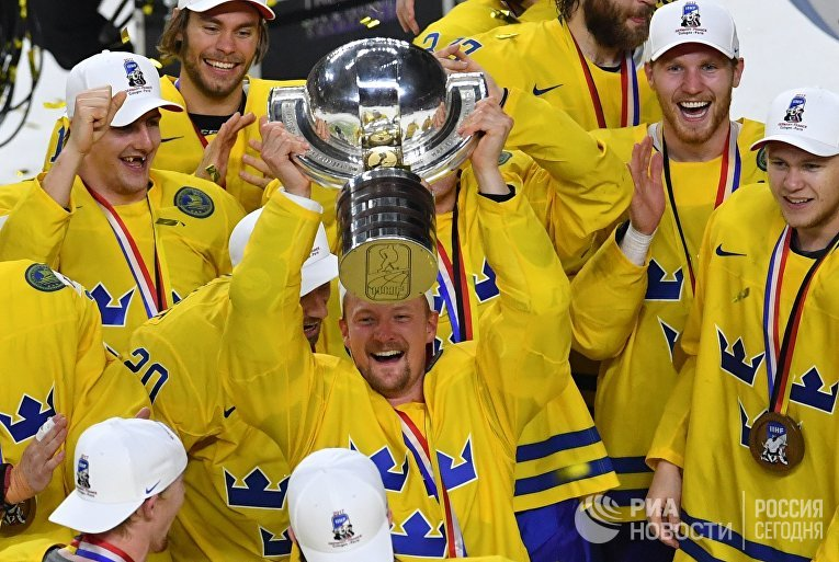Сборная Швеции в финальном матче чемпионата мира-2017, 22 мая