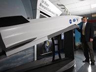 Модель гиперзвуковой крылатой ракеты X-51A Waverider