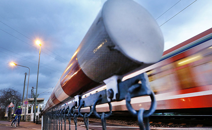 Поезд в Германии