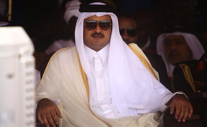 Эмир Катара Шейх Тамим бин Хамад Аль-Тани