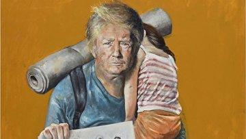Карикатура на Трампа