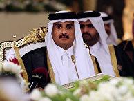 Эмир государства Катар шейх Тамим бен Хамад Аль Тани
