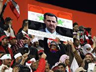 Портрет президента Сирии Башар Асад