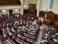 Депутаты на заседании Верховной рады Украины в Киеве. 16 мая 2016