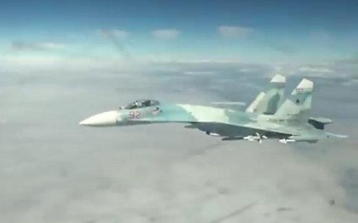Как русские перехватывают самолеты США
