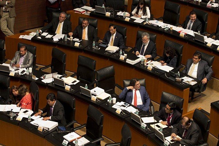 Заседание Сената