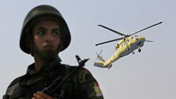 Военнослужащий египетской армии в Каире