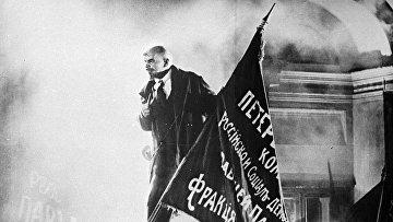 Выступление Ленина на броневике у Финляндского вокзала