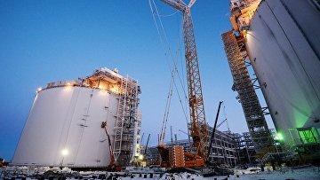 Строительство завода по производству сжиженного газа «Ямал СПГ»