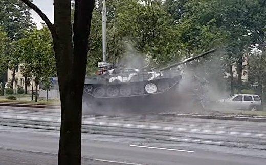Дрифт на Т-72