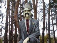 Памятник Ленину превратили в памятник Тарасу Шевченко в Луганской области