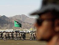 Солдаты вооруженных сил Саудовской Аравии