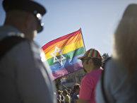 Ежегодный гей-парад в Иерусалиме