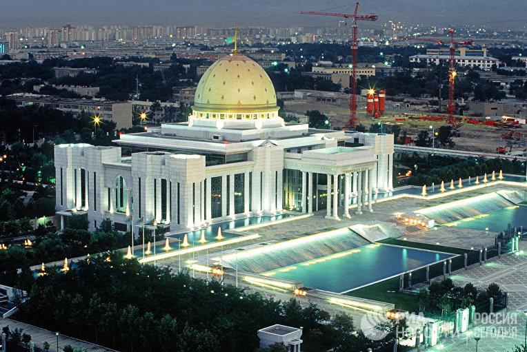 Дворец президента республики Туркмения